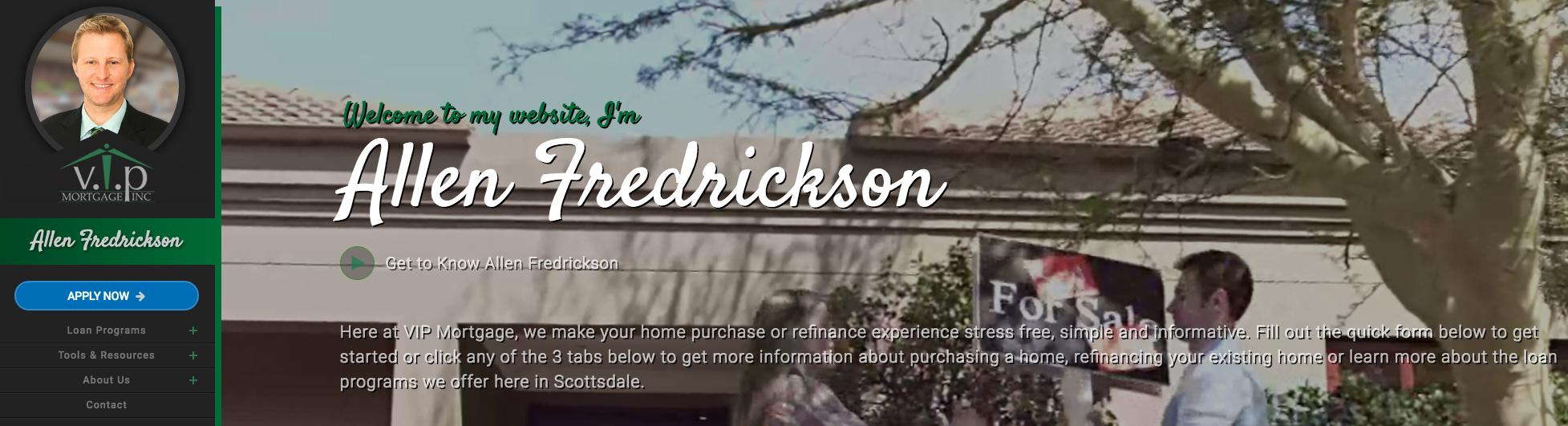 Scottsdale Mortgage Lender Allen Fredrickson