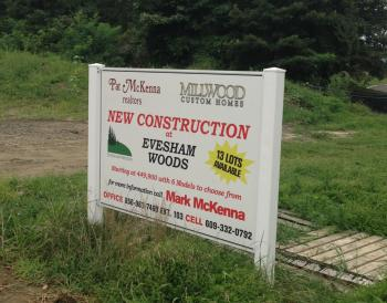 Evesham woods new construction in the south jersey area for New home construction south jersey