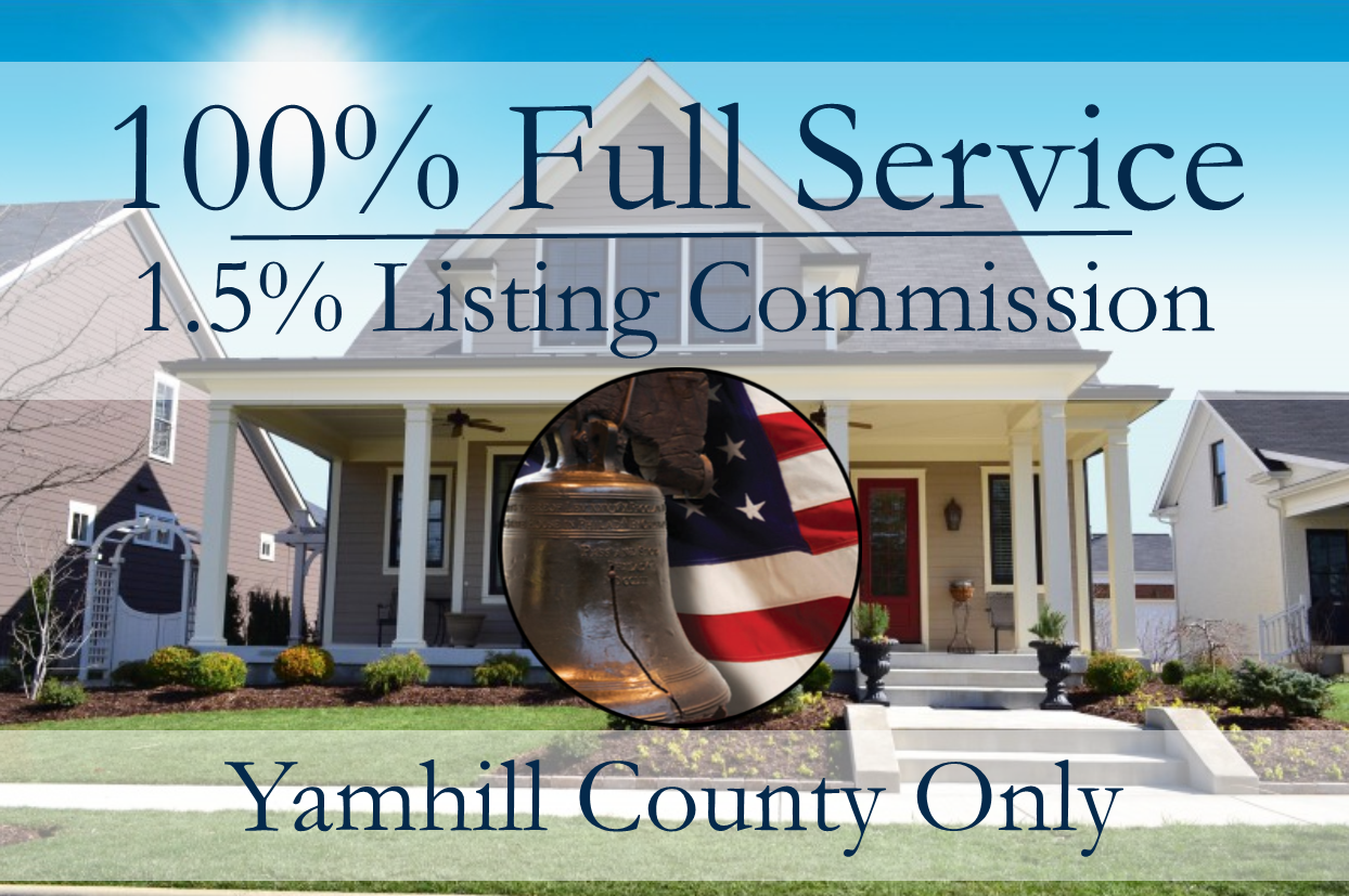 1.5 percent listing commission 100 percent full service