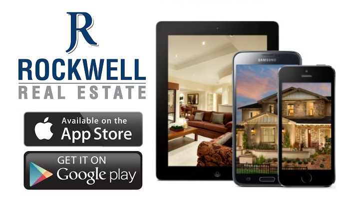 Rockwell Real Estate GPS Home Search App