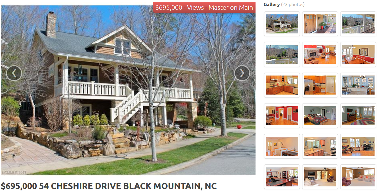 Black Mountain, NC - 4BR, 3.5BA - 54 Cheshire