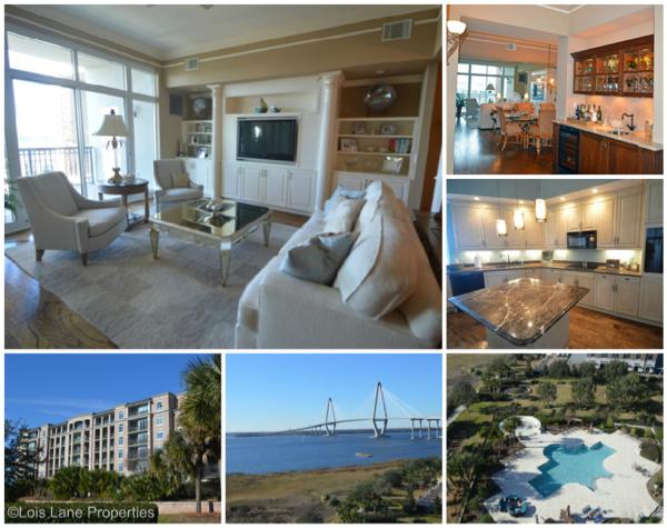 Charleston harbor, Penthouse, Charleston SC, Lois Lane Properties, Lois Lane