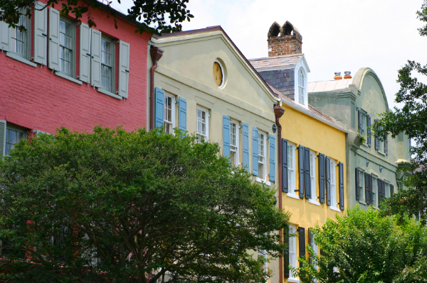 Charleston, Rainbow Row, Historic, Downtown, Women, Women's History