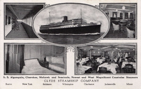 Charleston Waterfront, Clyde Line Docks, Lois Lane Properties, Clyde Steamship Company