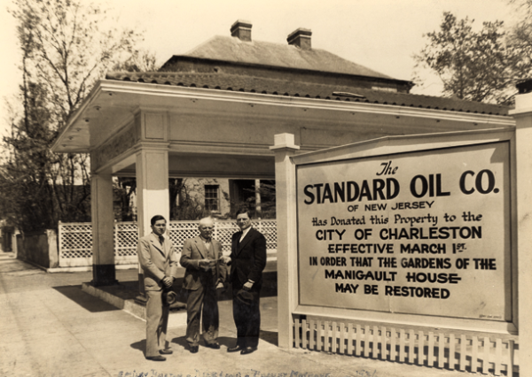 Manigault, Charleston, Standard Oil, Historic Home, Preservation