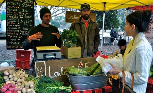 Charleston Markets, Charleston Farmer's Market, slow-food movement