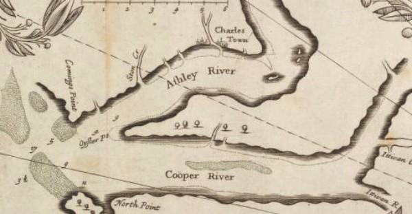 Charles Town Landing, Charles Town, 1670, Carolina Founding