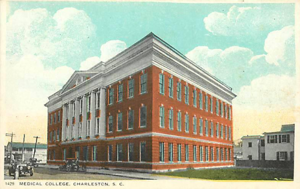 Medical College, Charleston 1914, Historic