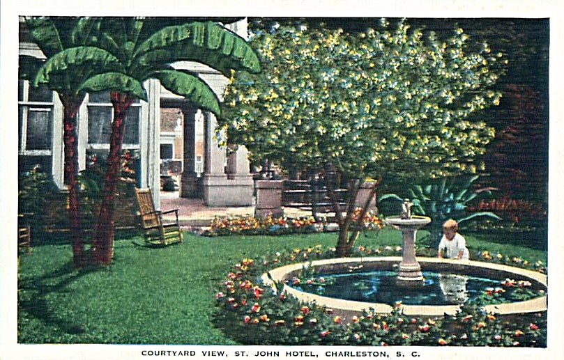 Charleston Garden, St. John Hotel, Southern gardens, Horticultural History