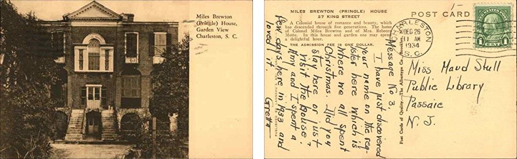 Fall Tour of Homes, Miles Brewton House, Pringle House, Charleston House Tours, Historic Downtown Charleston