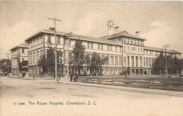 Roper Hospital, Charleston 1900s, Charleston, Medical History, Historic Hospitals, MUSC