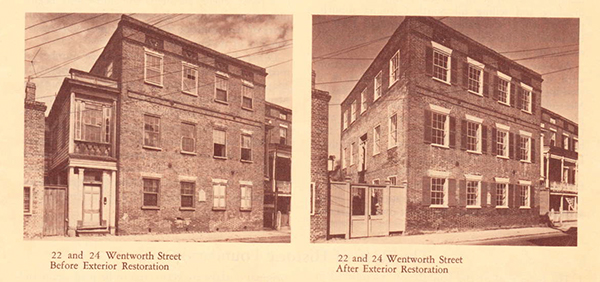 Wentworth, Charleston, Tenements, Dependencies, Ansonborough