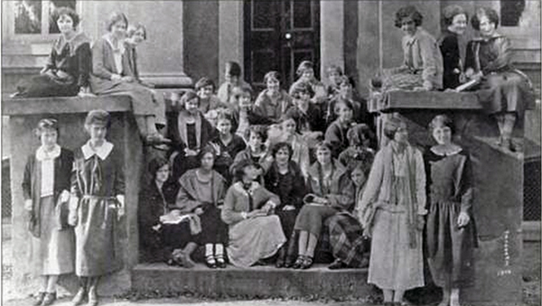 CofC Women, 1920s, First Class, Charleston, SC, College, Attendance, History