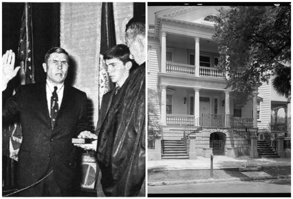 Charleston's Former Mayors, Lois Lane Properties, Ruthie Smythe, John Payne, Palmer Gaillard Jr., Charleston, SC, 60 Montagu Street