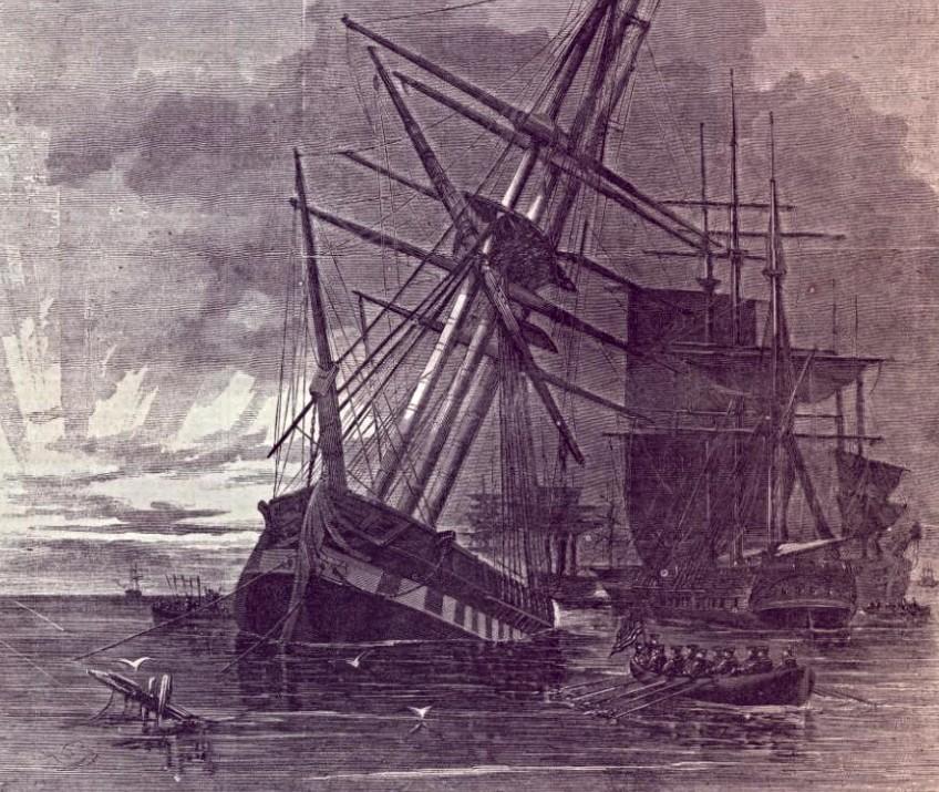 Stone Fleet, Charleston Harbor, Charleston SC