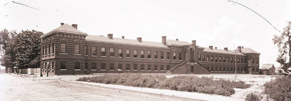 Memorial Hospital, Calhoun Street, Charleston 1888, Charleston, Historic Hospitals, Medical
