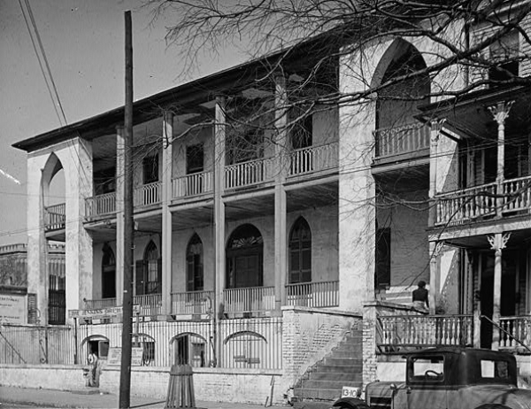 Marine Hospital, Charleston Medical History, MUSC, Roper, Historic downtown Charleston