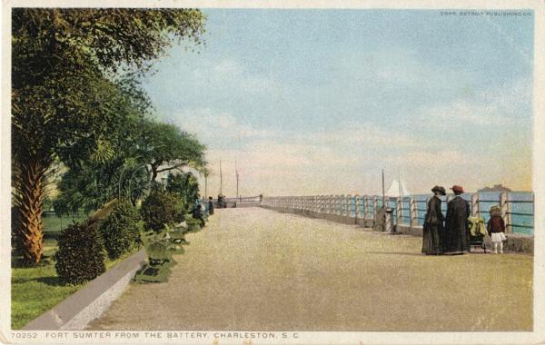 Gadsdenboro Park, Charleston, SC, The Battery, Fort Sumter, White Point Garden, White Point Gardens, Lois Lane Properties, Real Estate, Historic Downtown Real Estate, Luxury Real Estate, For Sale, For Rent