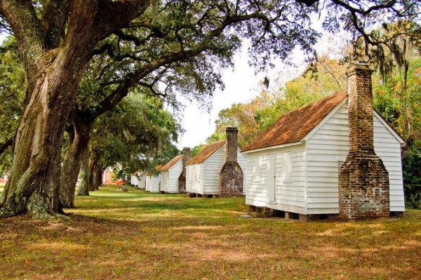 Slave Quarters, Transition Housing, Civil War, James Island Plantations, McLeod Plantation, Charleston, SC