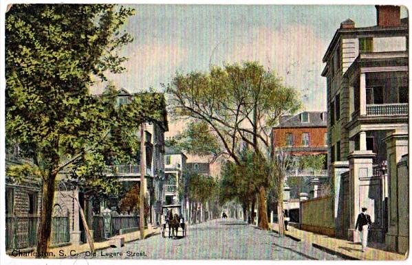 Charleston, SC, Legare Street, Literary Renaissance