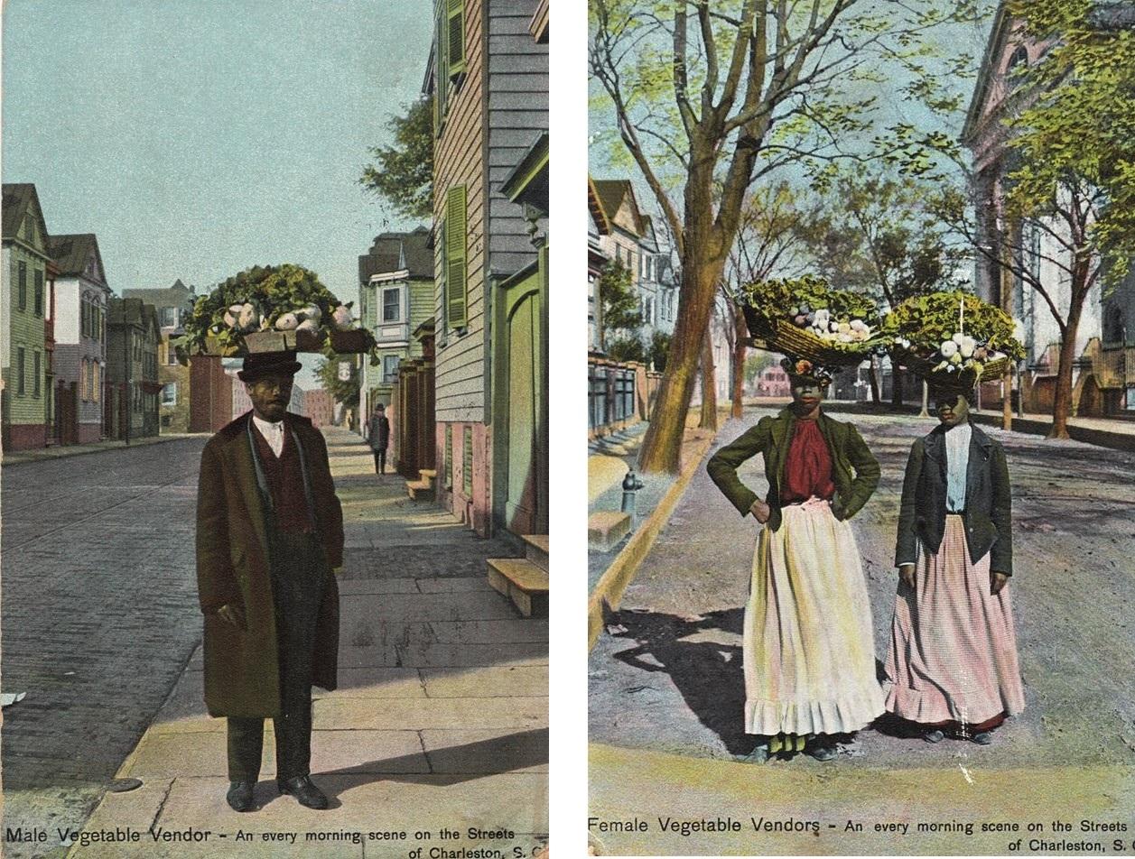 Charleston Markets, Charleston Vendors, Charleston 1900, hucksterdom