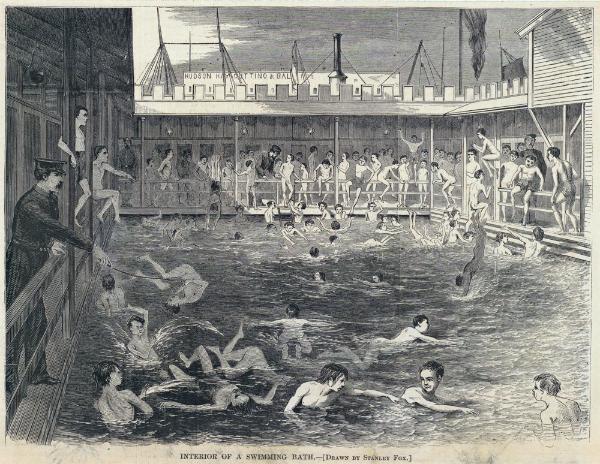 Swimming Bath, Saltwater Bathing