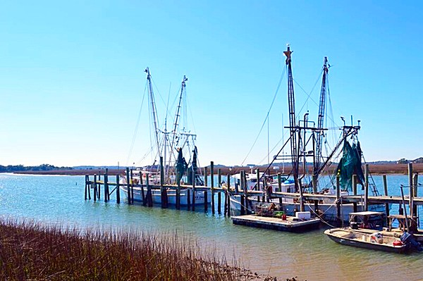 Charleston Shrimp, Shrimper, Boat