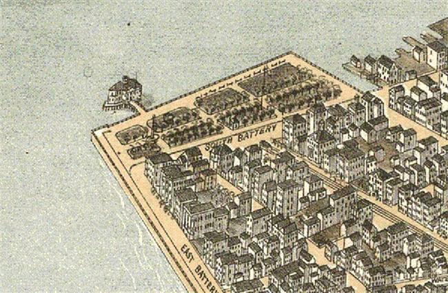 Charleston 1872, City of Charleston, Charleston Bathing House, Saltwater Bathing