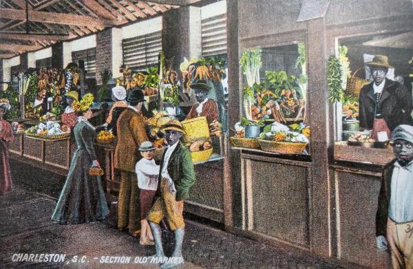 Charleston Markets, Charleston 1900, Hucksters, Peddlers, Gullah Market