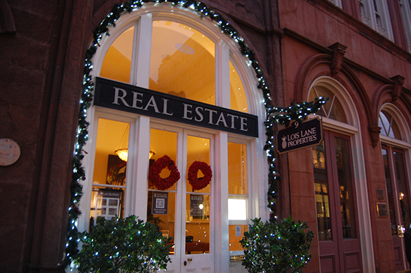 Lois Lane Properties, Real Estate, downtown Charleston, Charleston Christmas