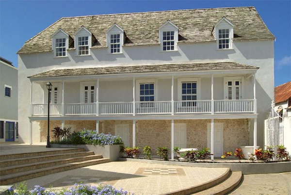 Arlington House, Speightstown, Barbados, Single House, Charleston Single House, Charleston, SC,