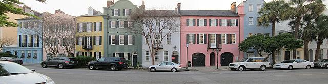 Rainbow Row, Dorothy Haskell Porcher Legge, Othniel Beale House, East Bay Street, Historic Preservation, Restoration