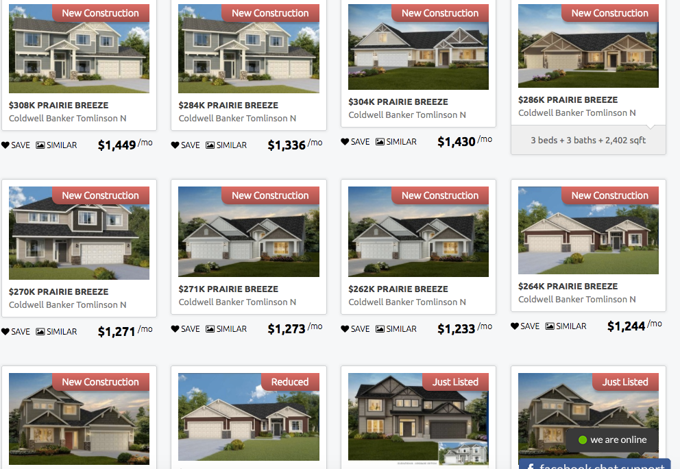 Prairie Breeze Homes for Sale