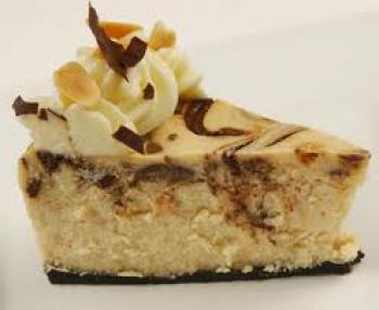 Reeses Chocolate Peanutbutter Heavenly cheesecake
