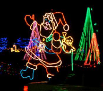 Christmas In The Park Longview Lake