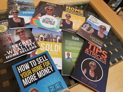 Real estate books for Hollywood Sellers by Realtor Kate Smith