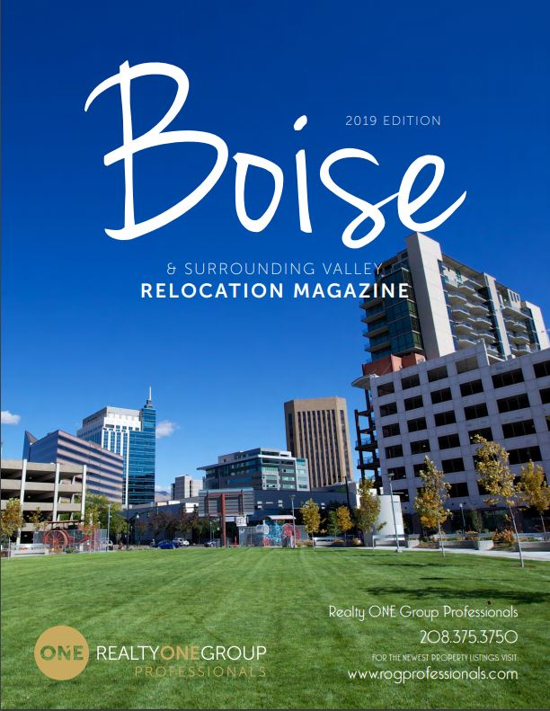 FREE 2019 Boise Area Relocation Guide