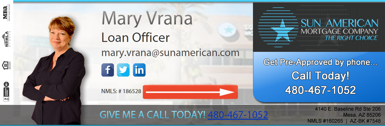 Mary Vrana Sun American Mortgage