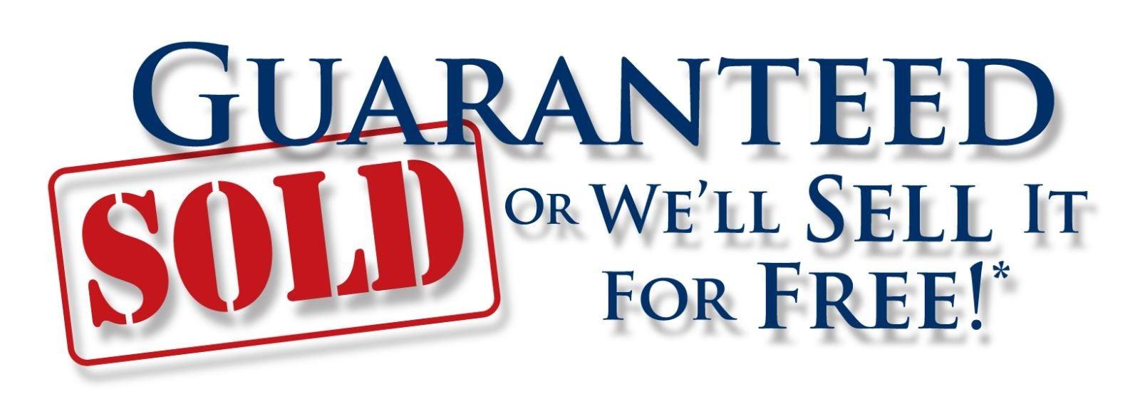 Guaranteed Sold!