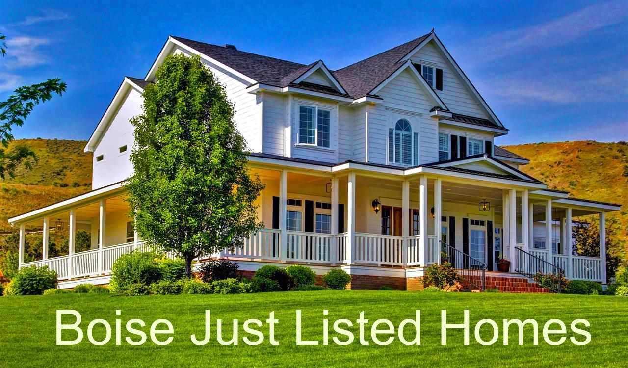 Boise Just Listed Homes
