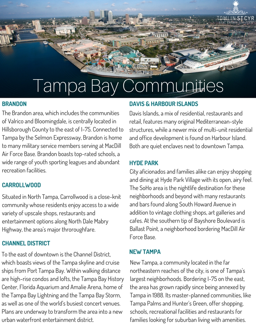 Tampa Bay Communities