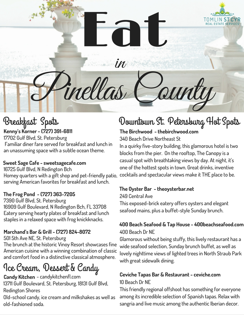 Eat in Pinellas County