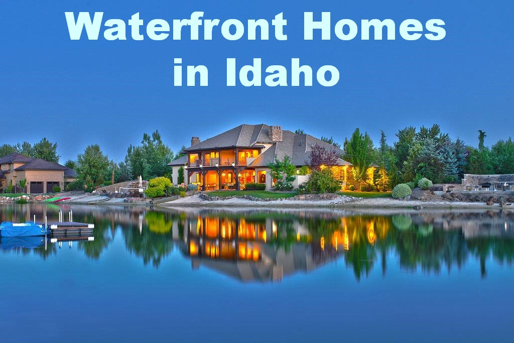 Waterfront Homes in Idaho for sale