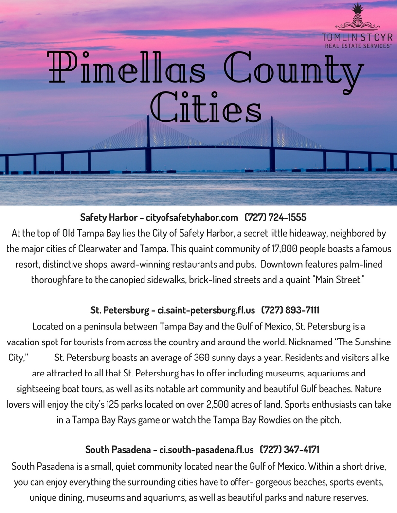 Pinellas County Cities