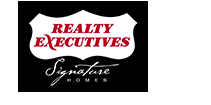 Realty Executives Signature Homes Logo