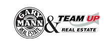 Gary Mann Real Estate & Team Up Real Estate Logo