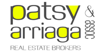 Patsy Arriaga & Associates Real Estate Brokers Logo