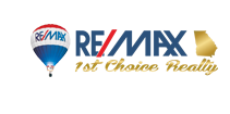 RE/MAX 1st Choice Realty Logo