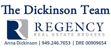 The Dickinson Team - Regency RE Brokers Logo