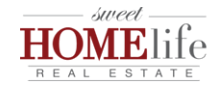 Sweet HOMElife Real Estate Logo